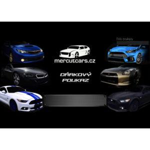 mercutcars darkový poukaz